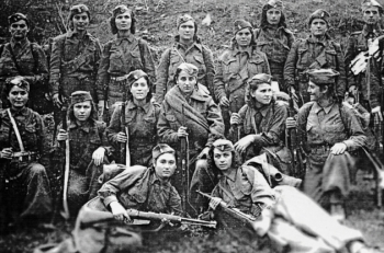 Οι γυναίκες ενάντια στον φασισμό. Της ιστορικού Τασούλας Βερβενιώτη