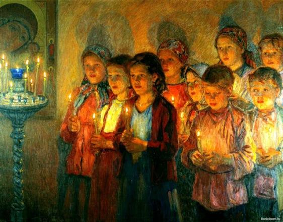 εκκλησία-παιδιά